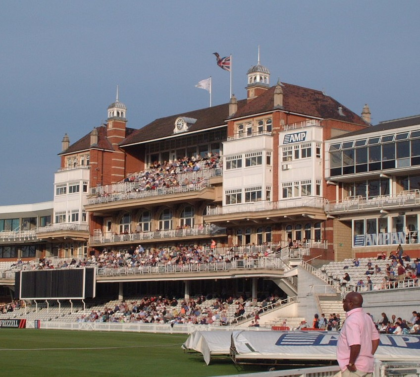 the splendid pavillion and not so splendid sponsor name - the amp oval